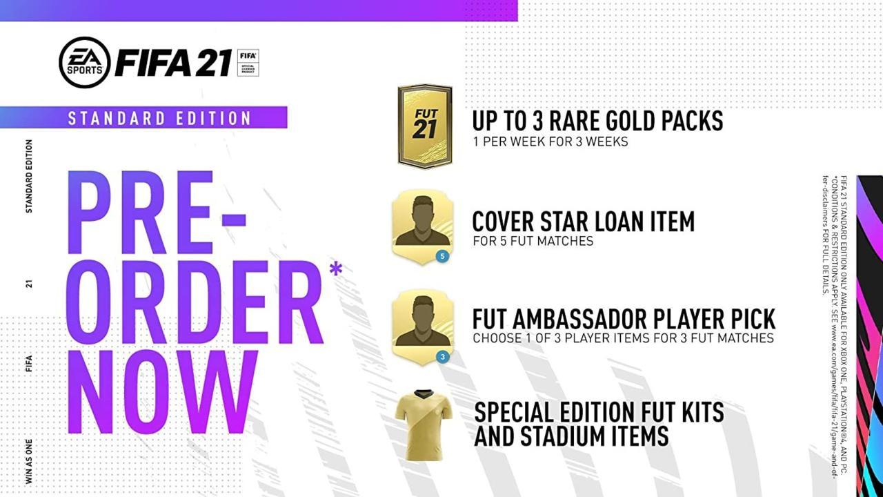 FIFA 21 standard edition - $60