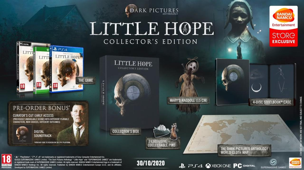 The Dark Pictures: Little Hope Collector's edition