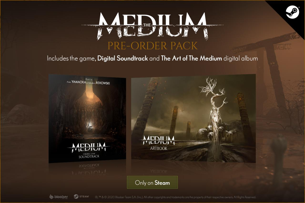 Preorder bonuses for The Medium have only been announced for Steam and Epic.