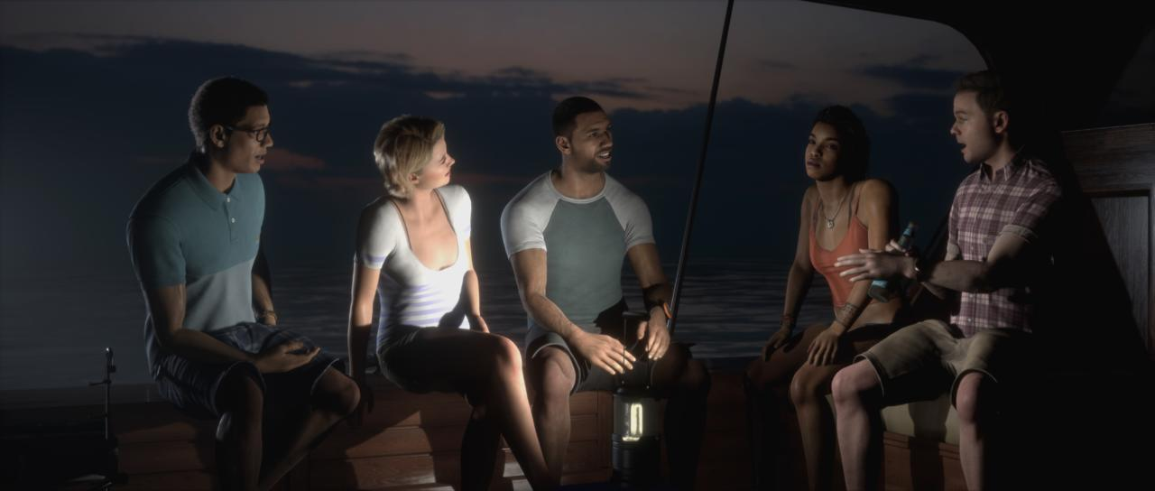 The Dark Pictures: Man Of Medan (PS4, Xbox One, PC)