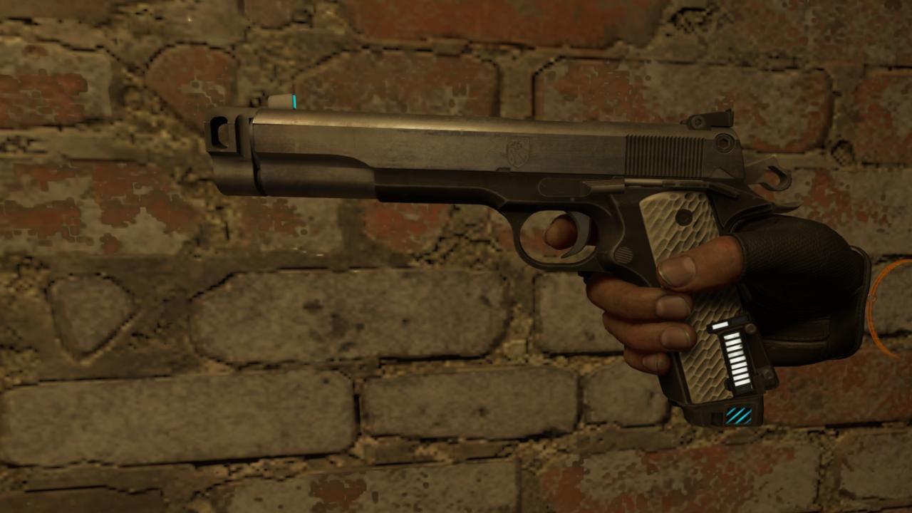 Alyx's pistol.