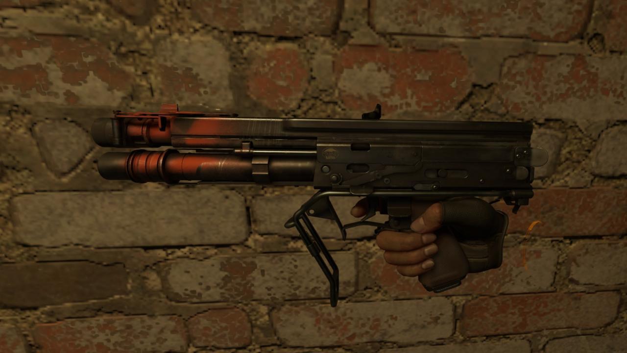Alyx's shotgun.