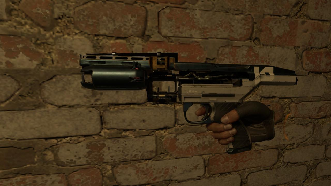 The Combine SMG.