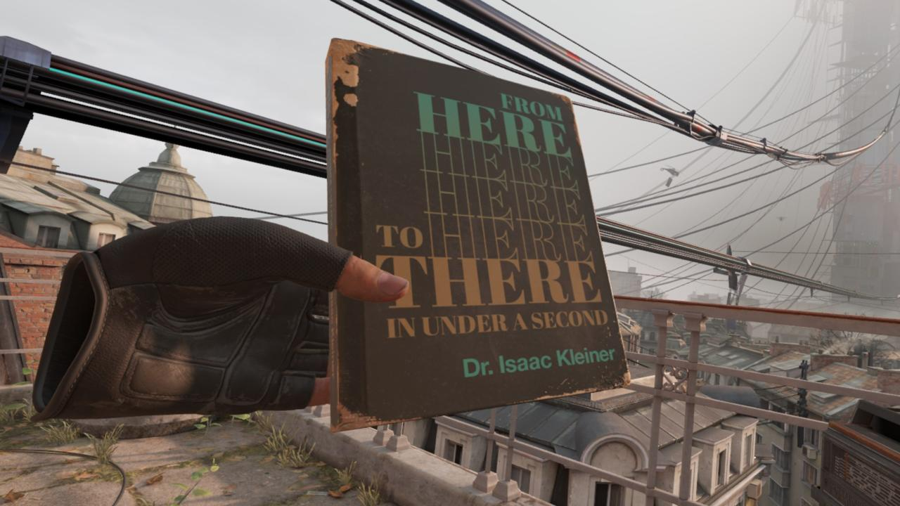 Dr. Isaac Kleiner's book, From Here To There In Under A Second.