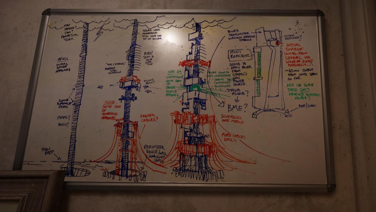 The Citadel is still mid-construction in Half-Life: Alyx.