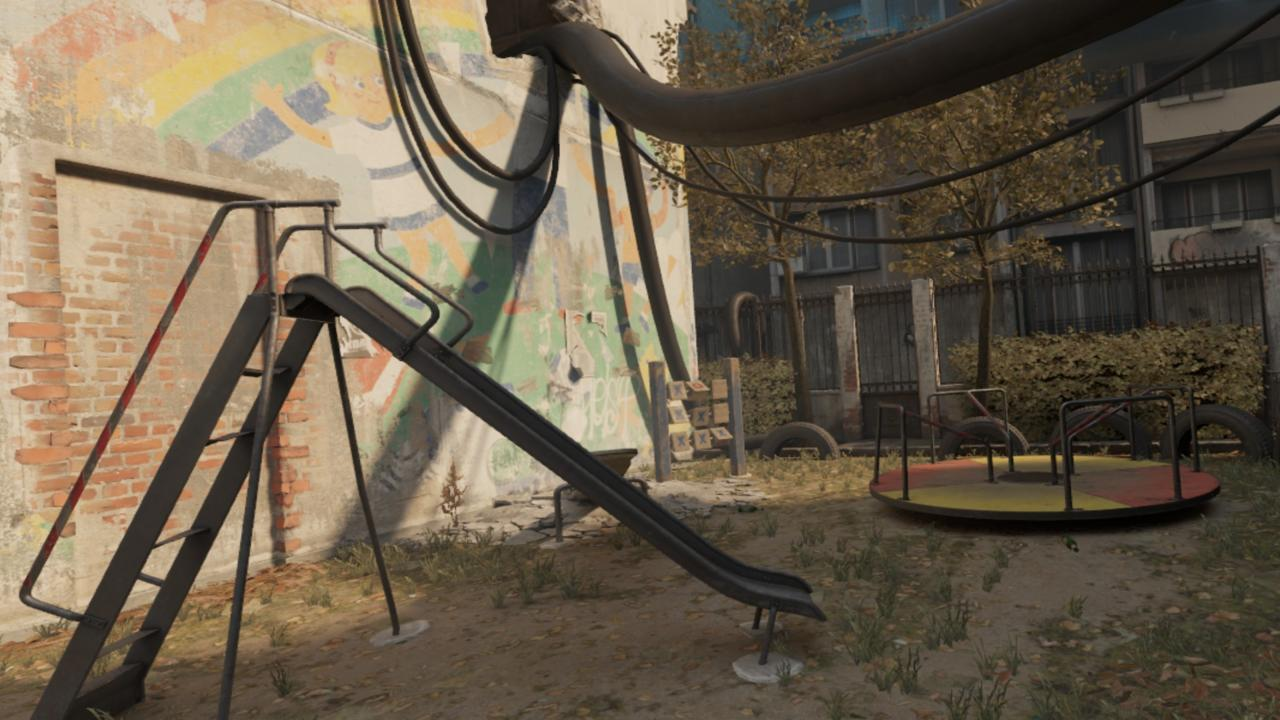 Not the same playground as Half-Life 2's, but pretty similar.