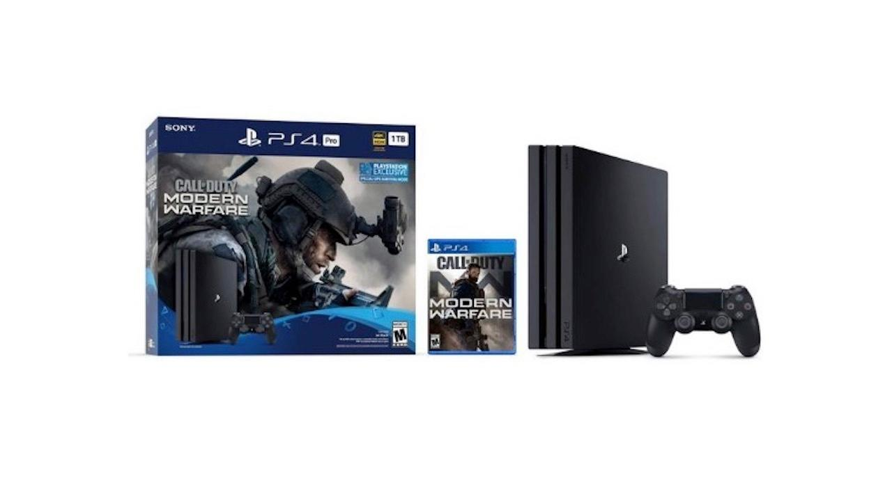 PS4 Pro (1TB) with Call of Duty: Modern Warfare | $350