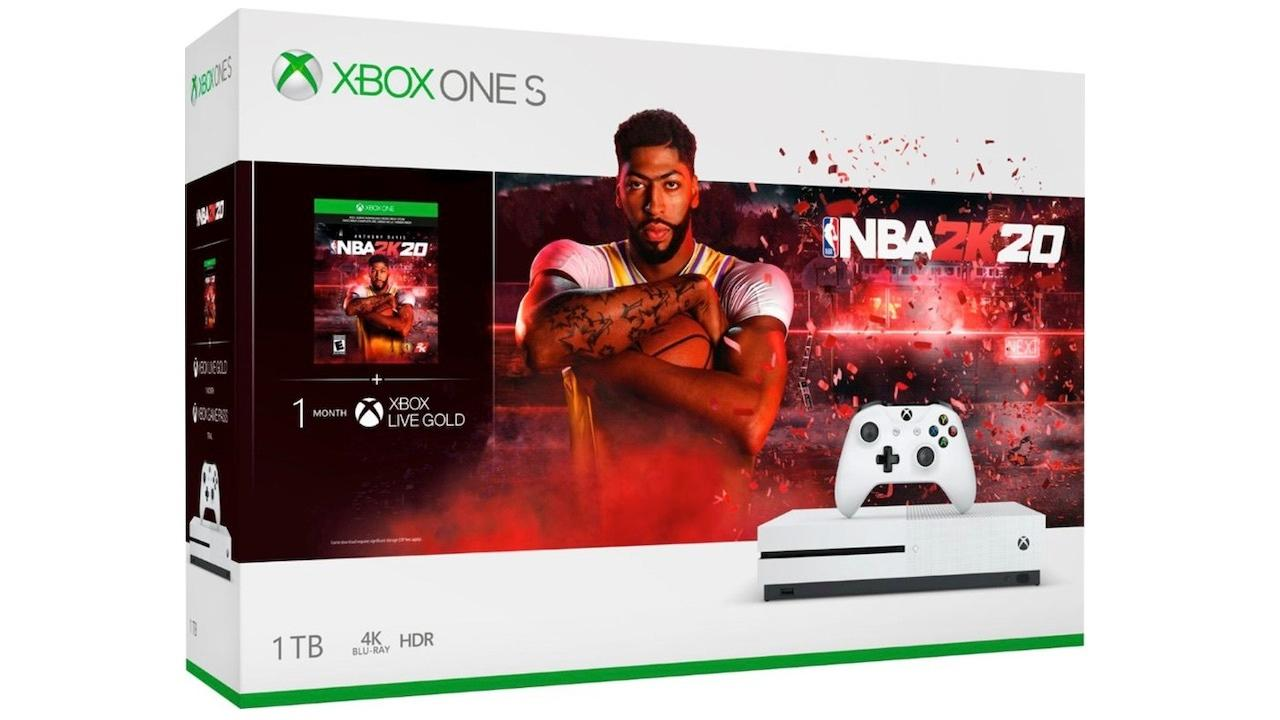 Xbox One S with NBA 2K20 | $199
