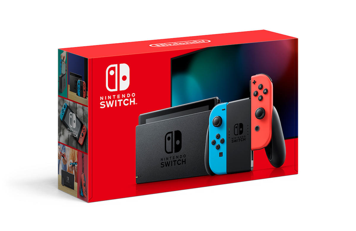 Nintendo Switch (new model) with Mario + Rabbids Kingdom Battle and Starlink: Battle for Atlas | $300