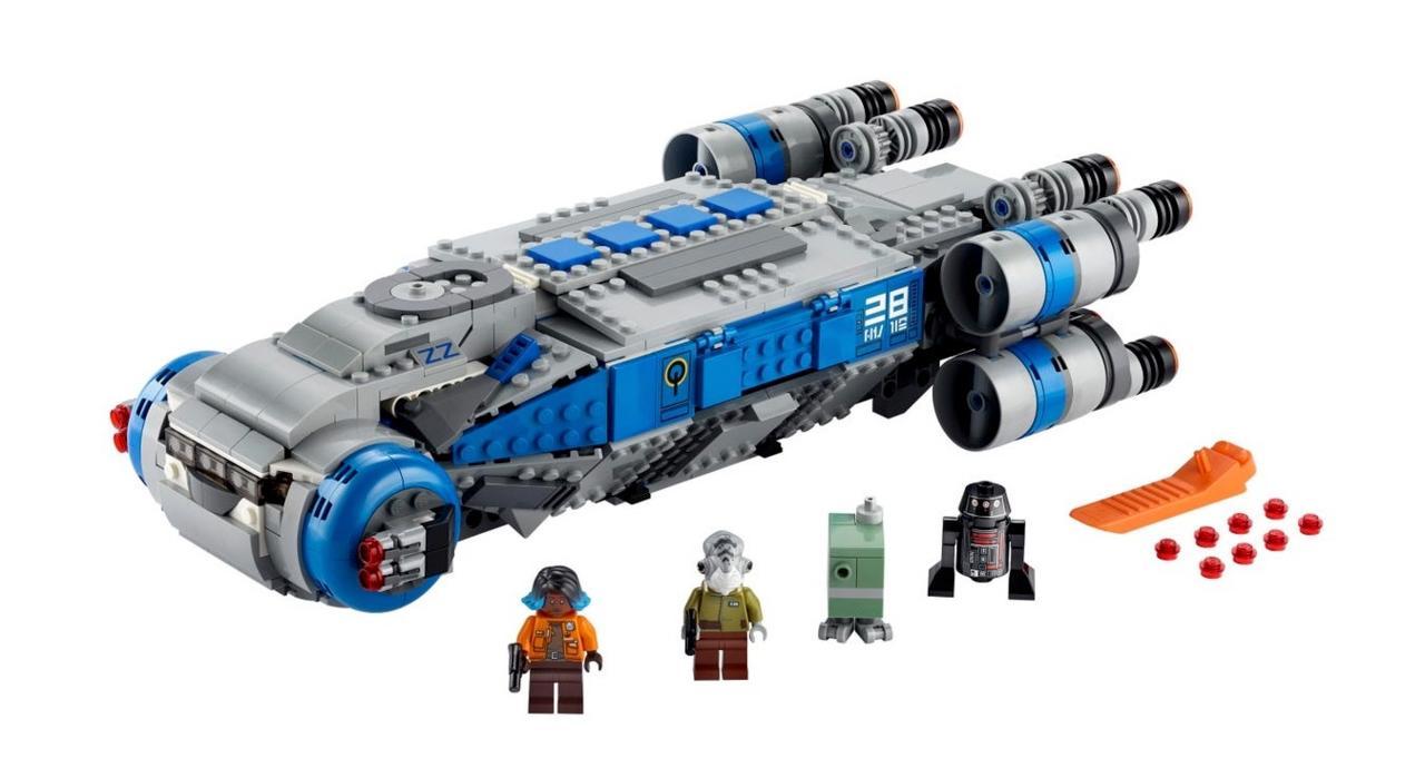 Lego Star Wars Resistance I-TS Transport