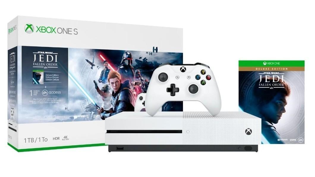 Xbox One S bundle with Star Wars: Jedi Fallen Order | $199