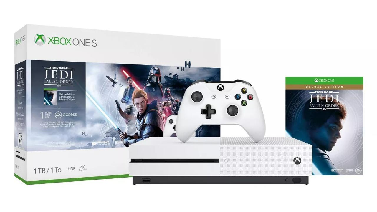 Xbox One S with Star Wars Jedi: Fallen Order | $213