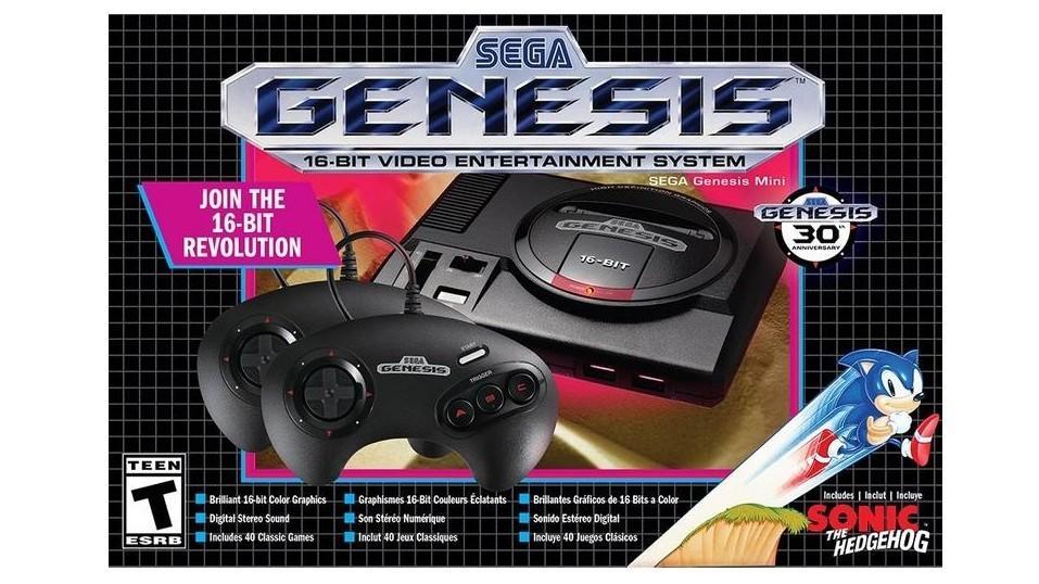 Sega Genesis Mini-Console  | $50
