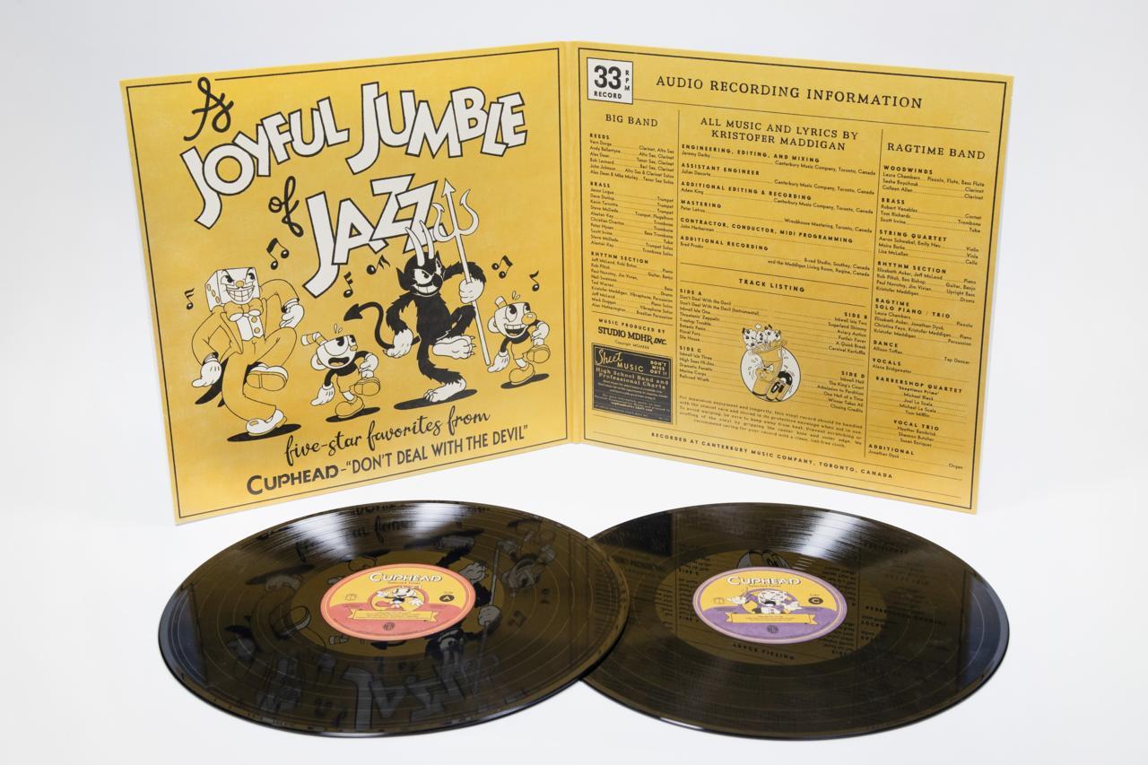 Cuphead 2xLP Vinyl Soundtrack