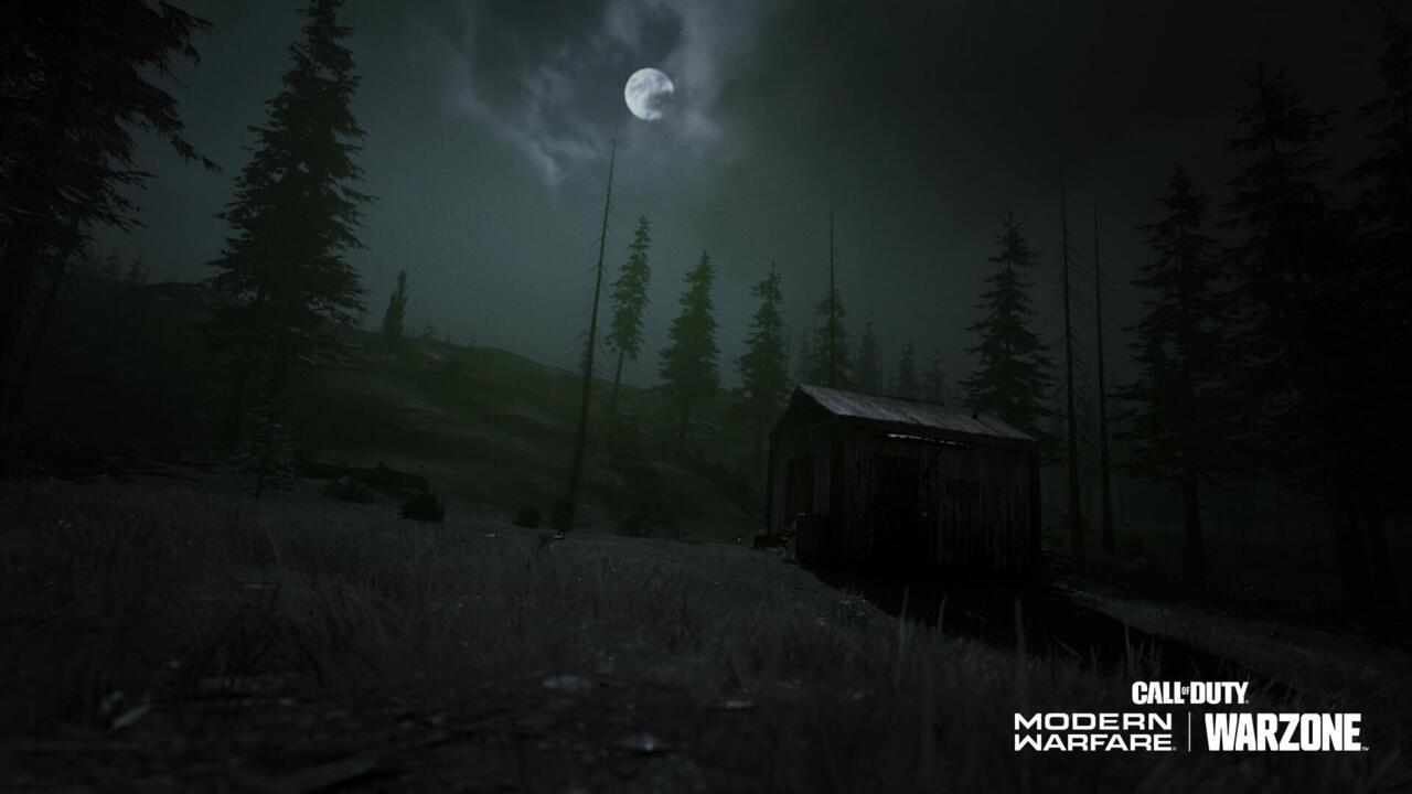 Verdansk at night