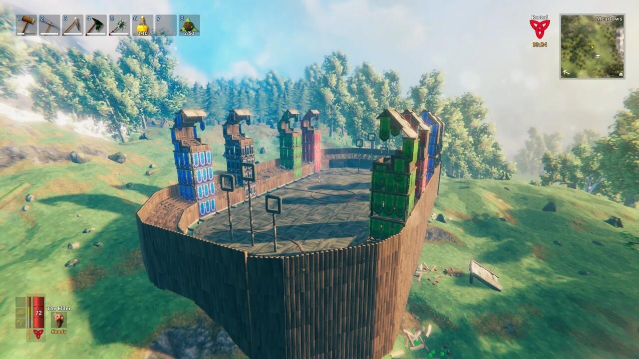 A image of Zahore's Quiddich field