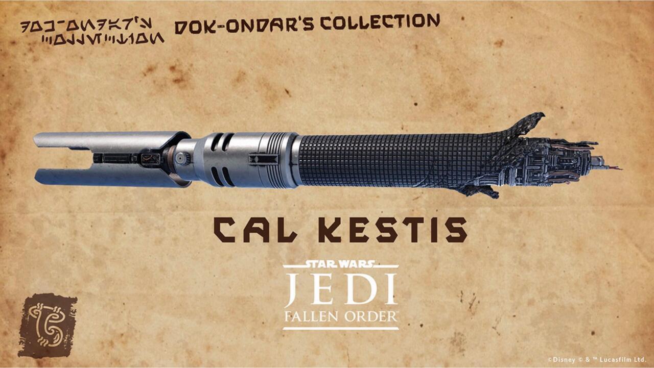 Artwork for Cal Kestis' lightsaber