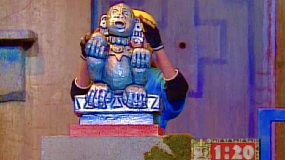 The Shrine of the Silver Monkey   Legends of the Hidden Temple
