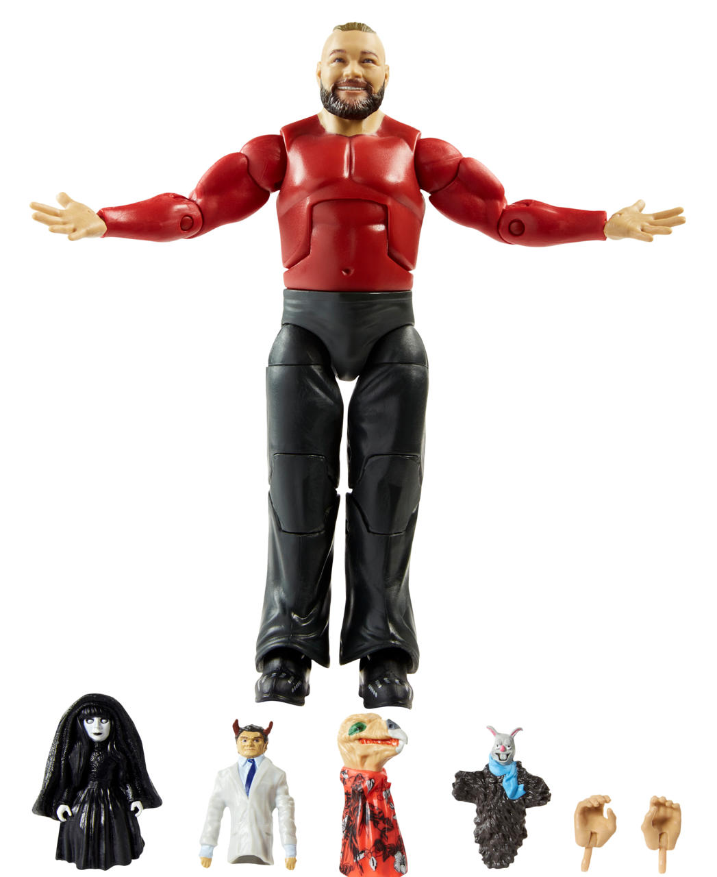 Bray Wyatt With Firefly Funhouse Friends Ringside Collectible Exclusive