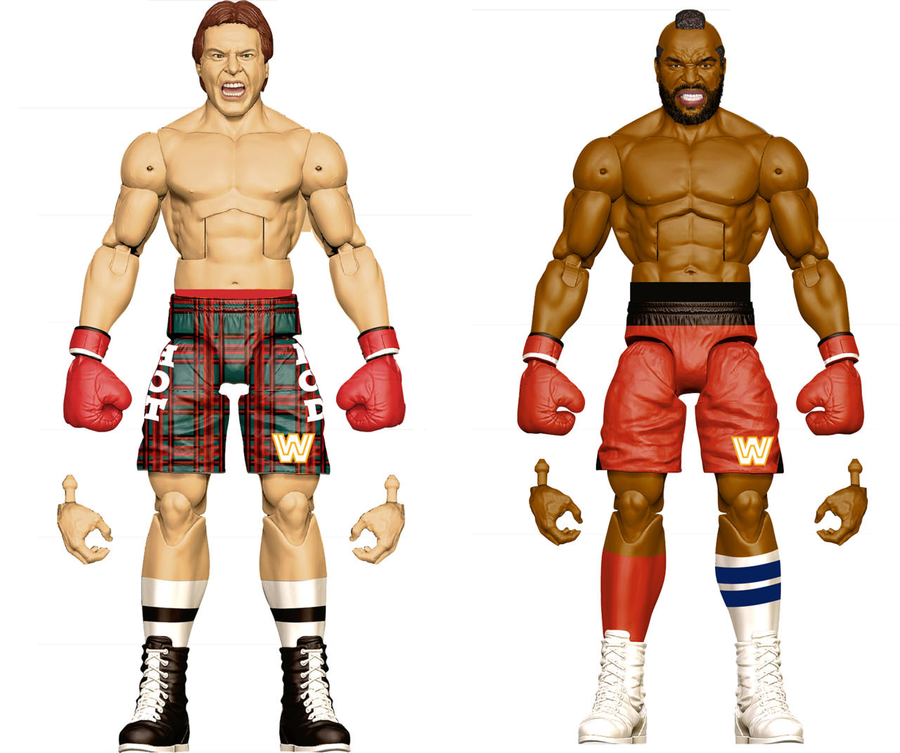 Roddy Piper and Mr. T Wrestlemania II Two-Pack