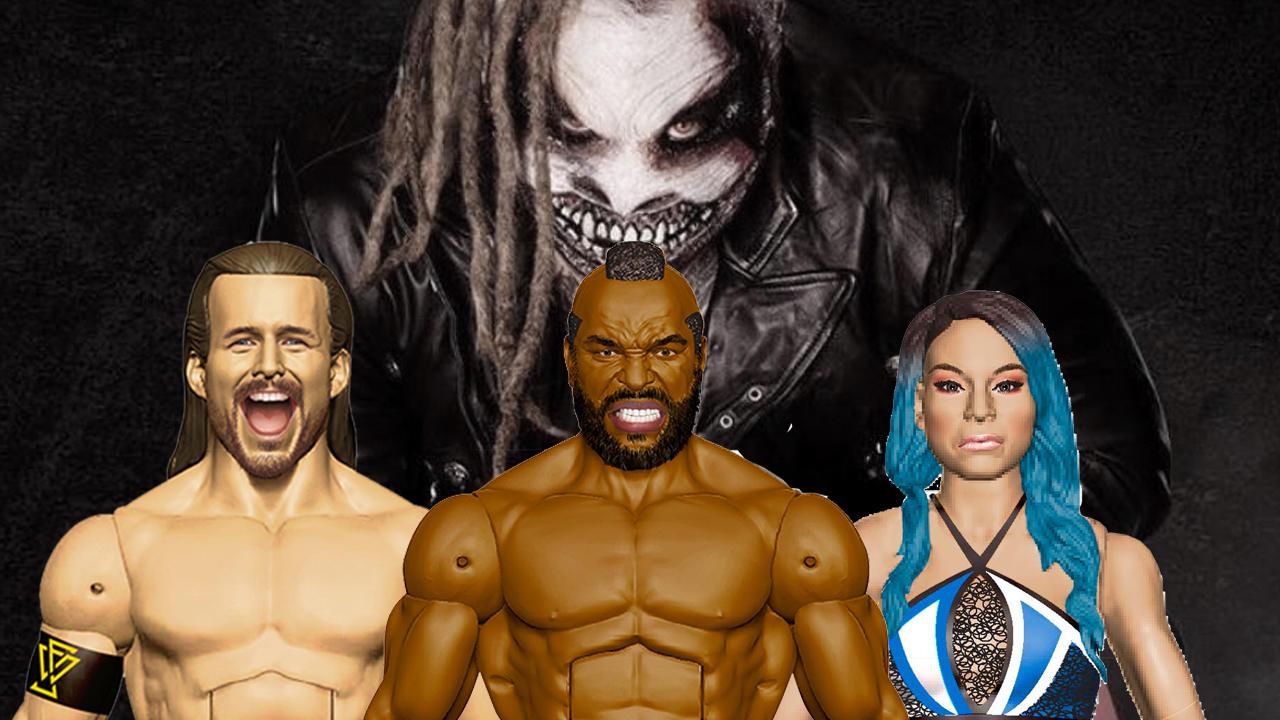 WWE Figures From Mattel