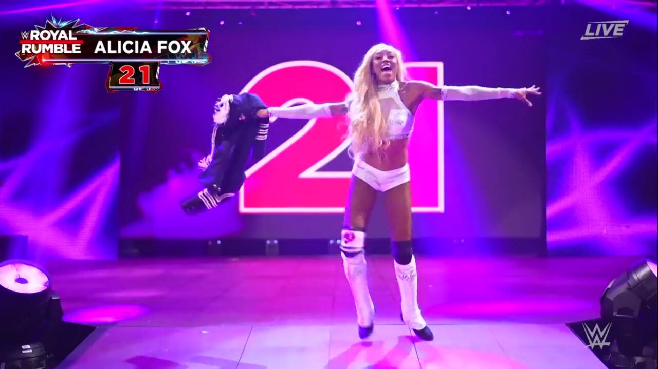 Entrant 21: Alicia Fox
