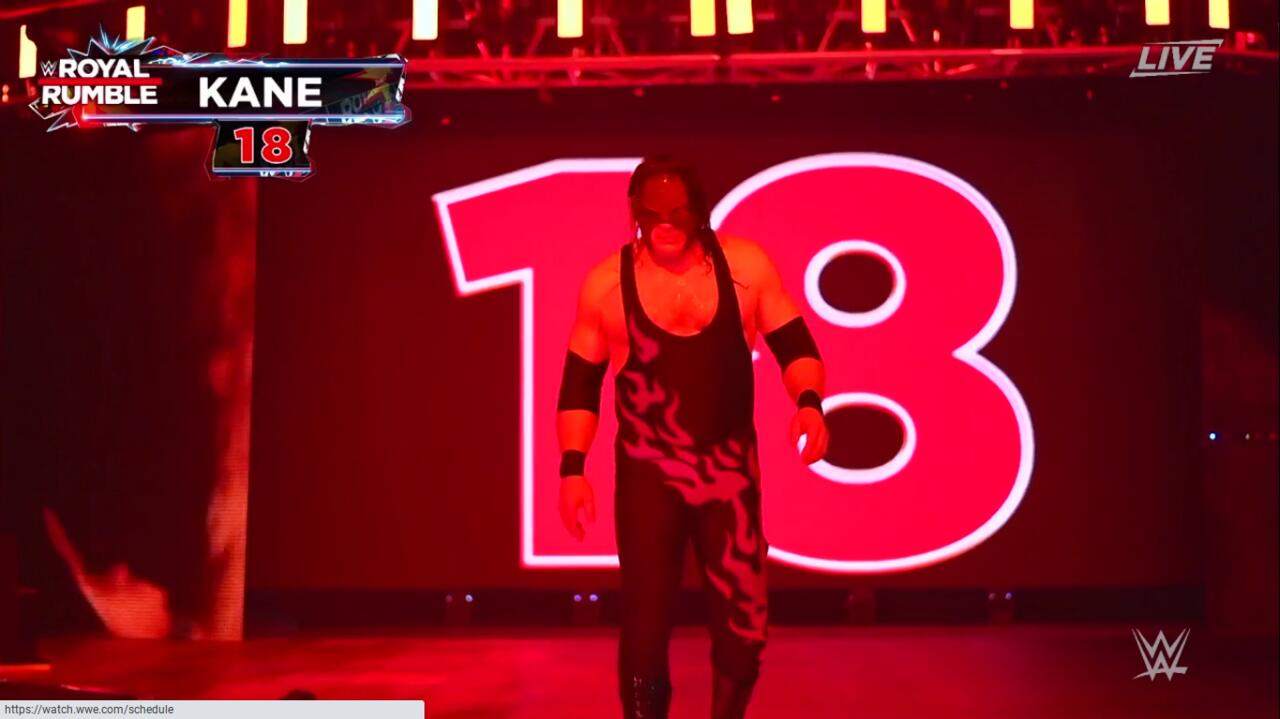 Entrant 18: Kane