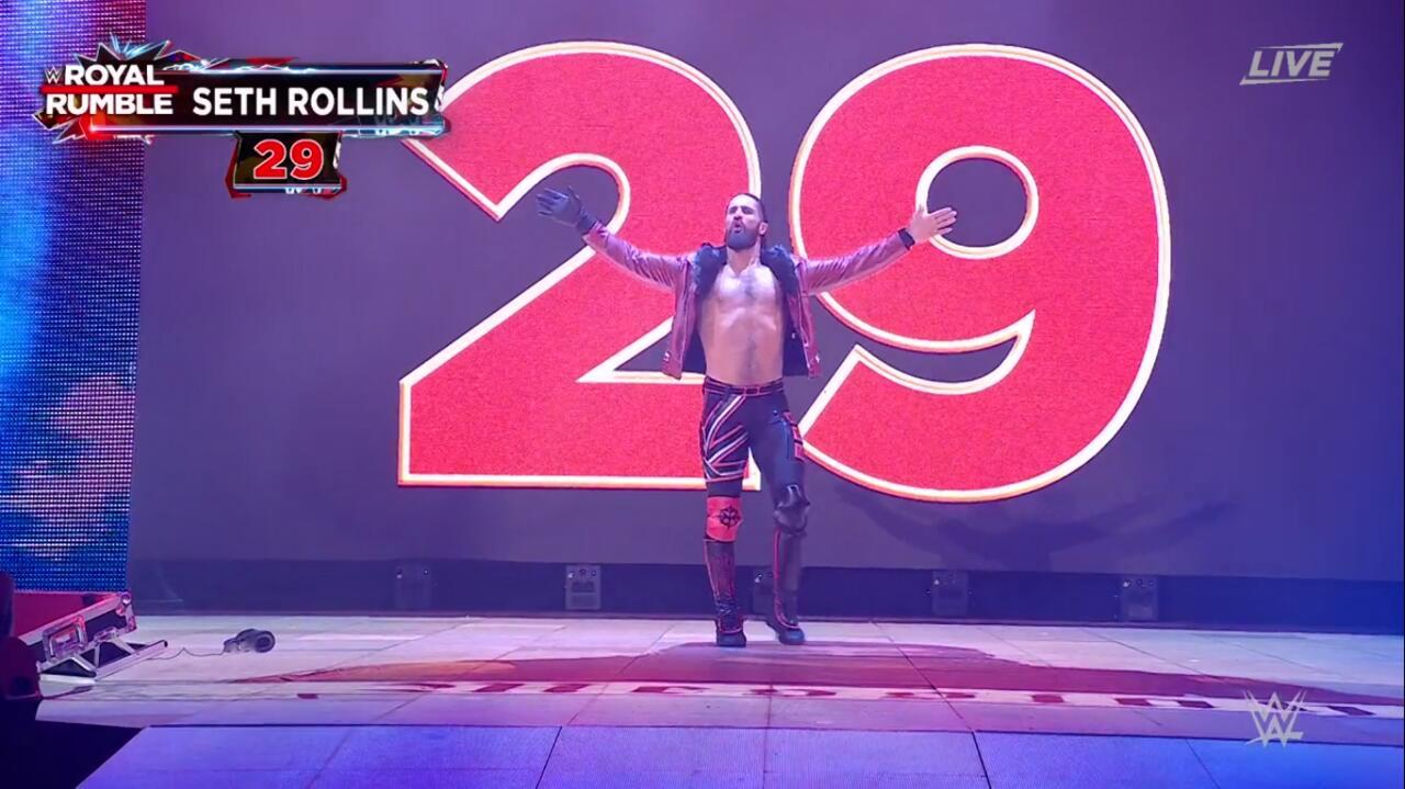 Entrant 29: Seth Rollins
