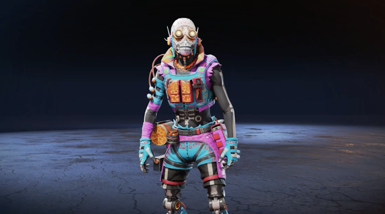 The Muerte Rápida Octane skin