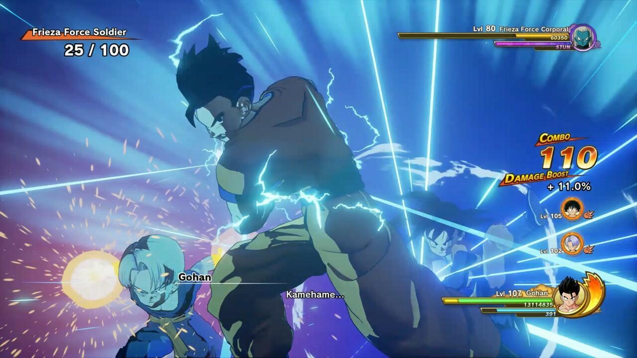 Dragon Ball Z: Kakarot Horde Battle