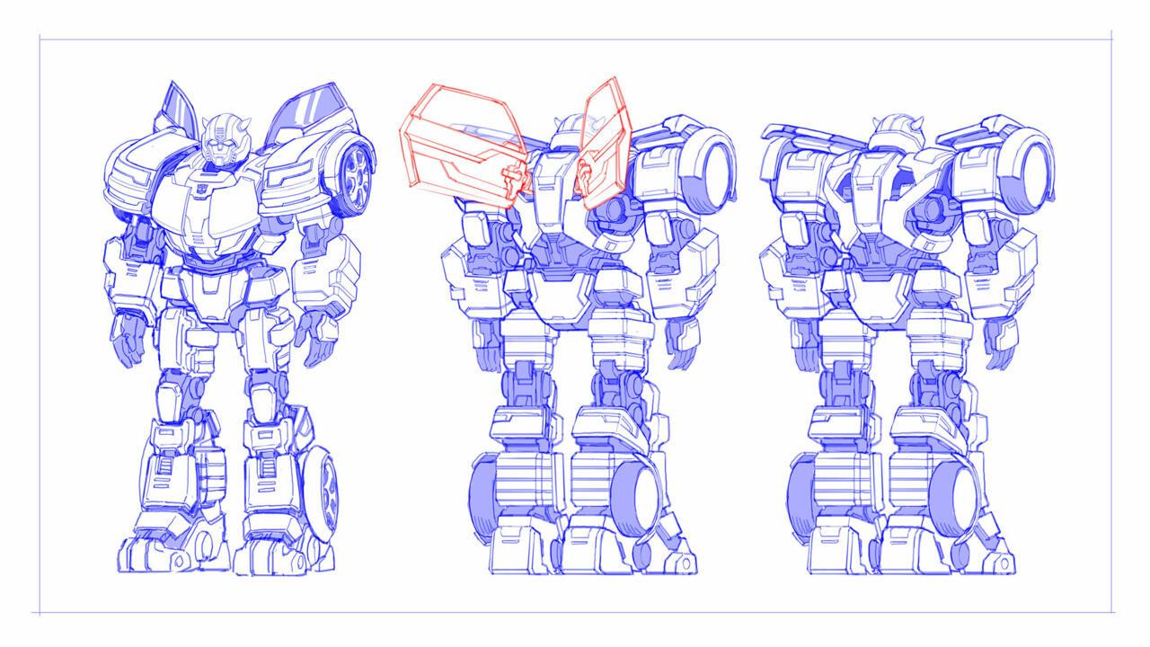 Transformers: Heavy Metal Bumblebee concept art. SOURCE: Niantic