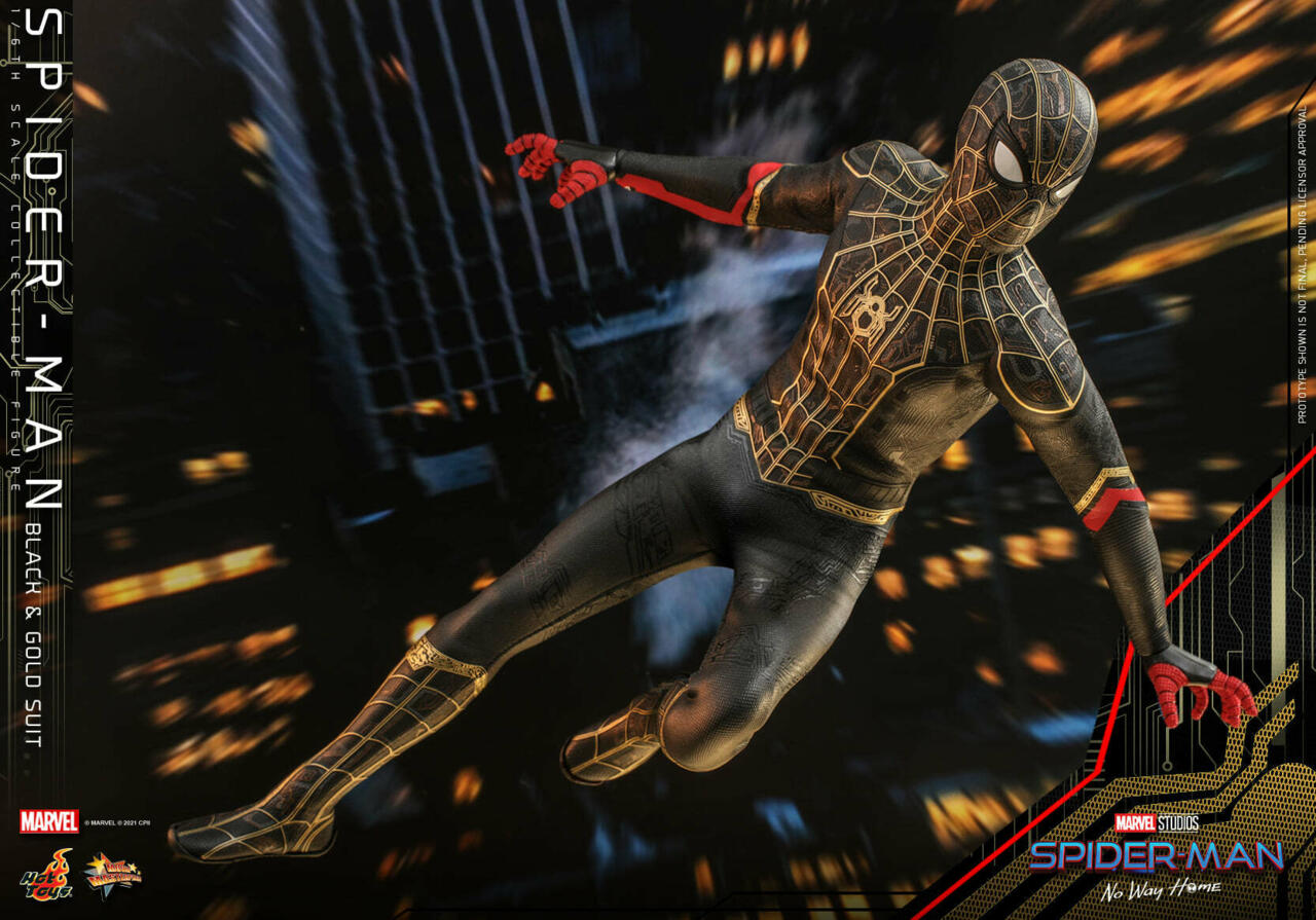 Hot Toys Spider-Man: No Way Home Sixth-Scale Figure