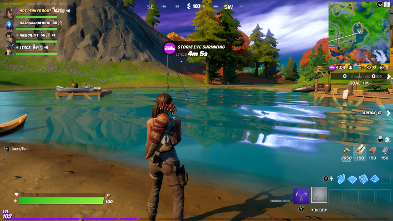 Catching fish in Fortnite has never been easier than it is this week.