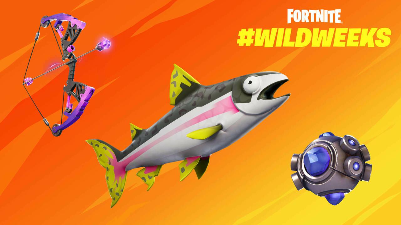 A última Fortnite Wild Week coloca um salto em seu ritmo.
