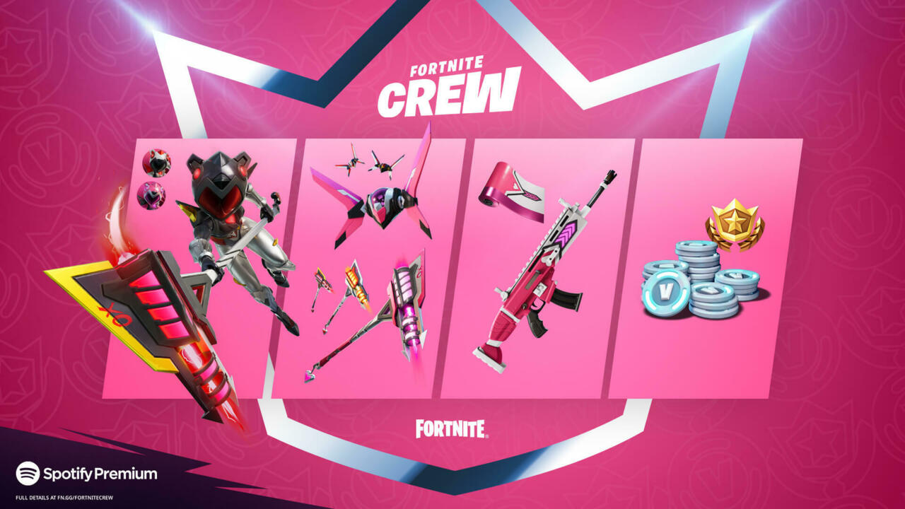 The Fortnite June Crew Pack has been revealed.