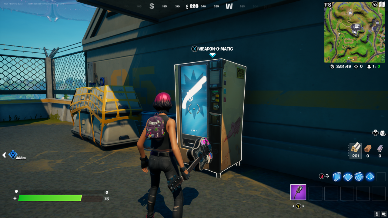 Vending machines have wares if you have Gold Bars.