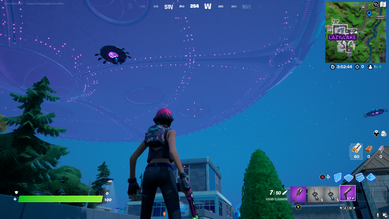Already piloted UFOs can be found wherever a map location is written in purple.