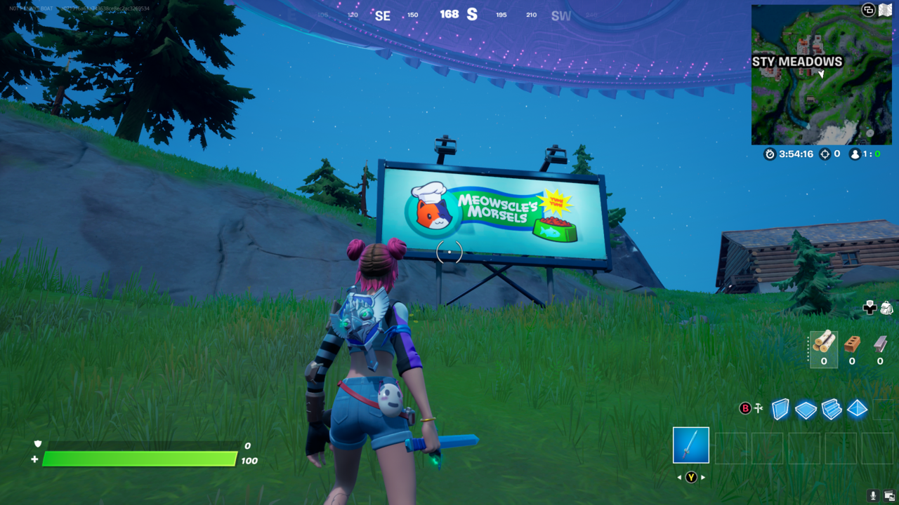 Not all is as it seems with these new Fortnite billboards.