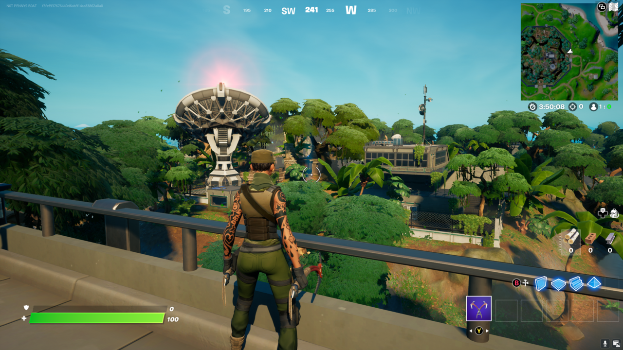 Stealthy Stronghold lost its name but gained better loot in Season 7.
