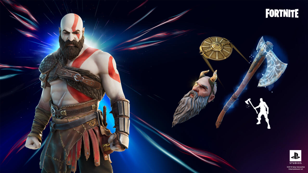 Kratos heralded a run of many more video game crossovers in Fortnite.