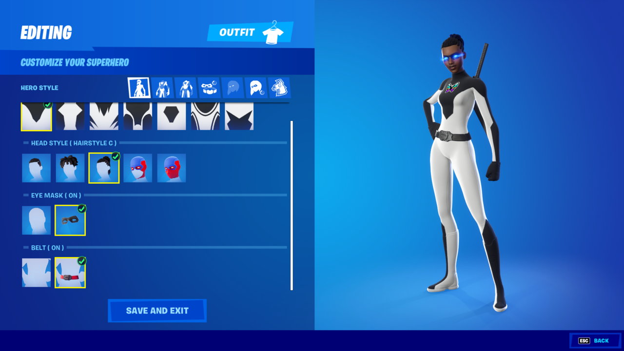 Some of the deepest customization options in all of Fortnite skins are within the Boundless set.