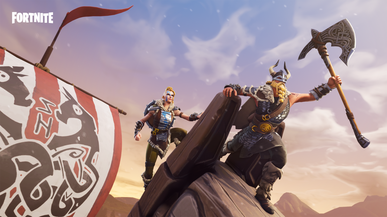 Magnus and Huntress don't come around the Item Shop often these days.