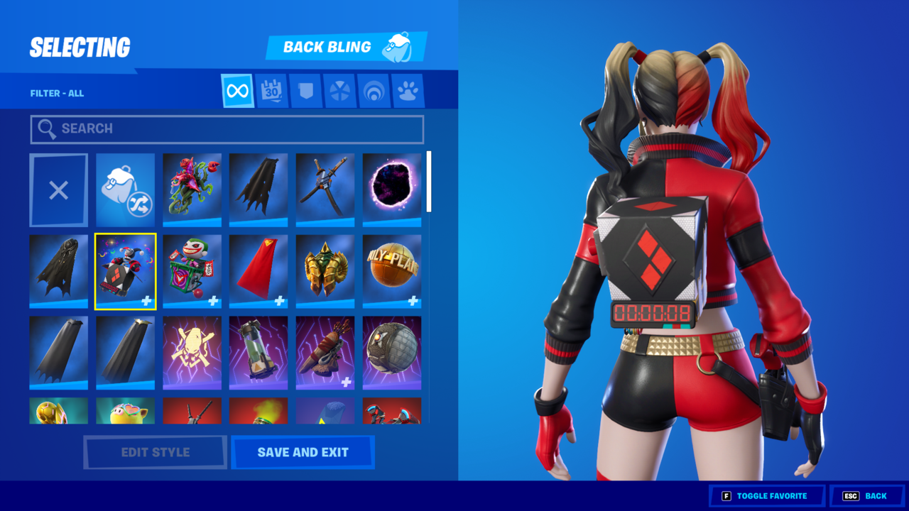 Here's back bling that serves fashion and function.