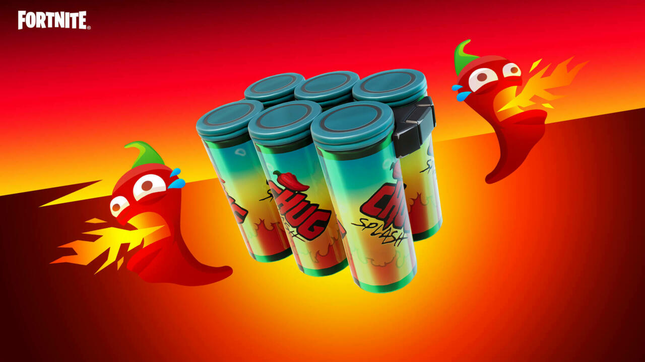 The new Chili Chug Splash will put some pep in your step.