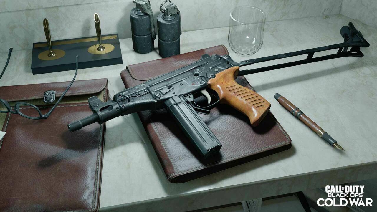 OTs 9 submachine gun