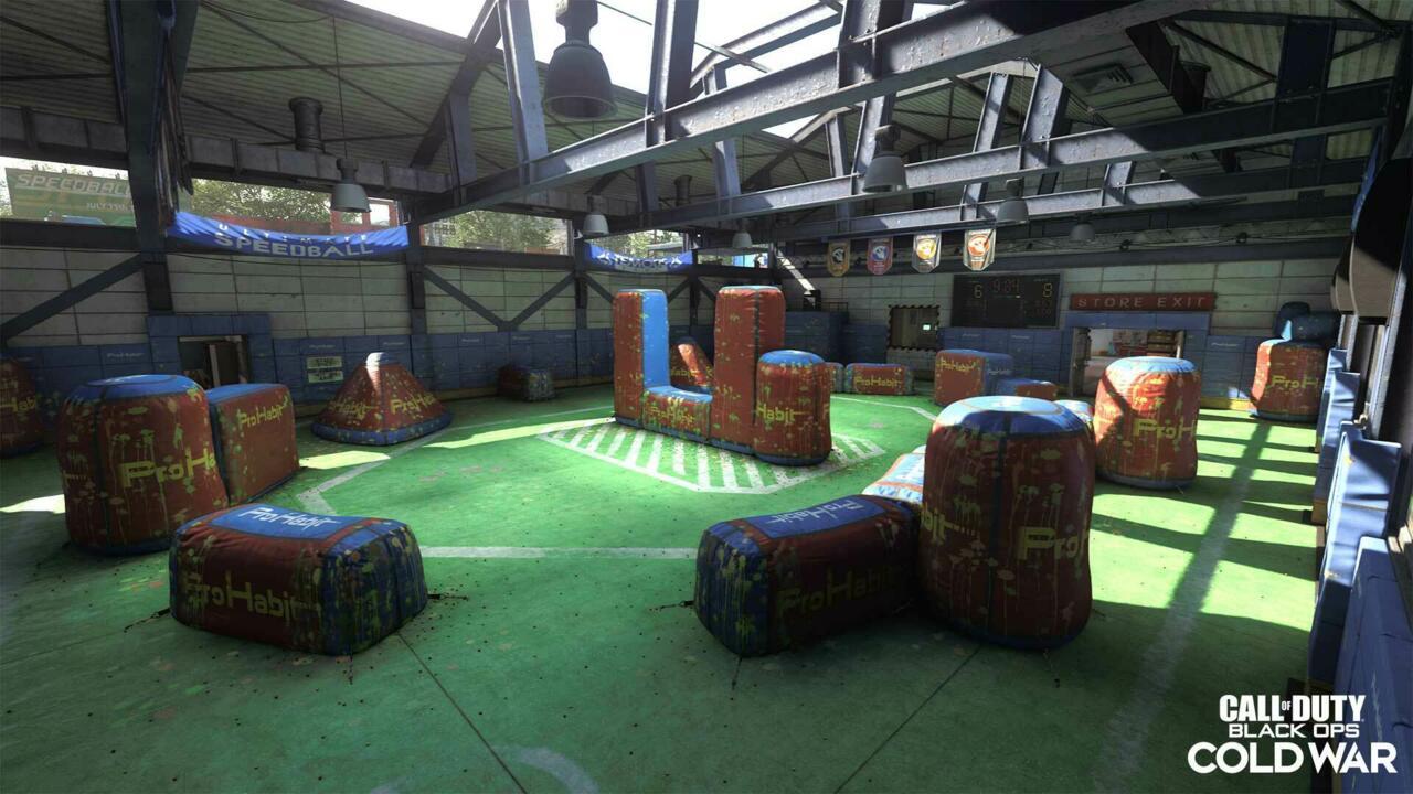 Rush 6v6 multiplayer map