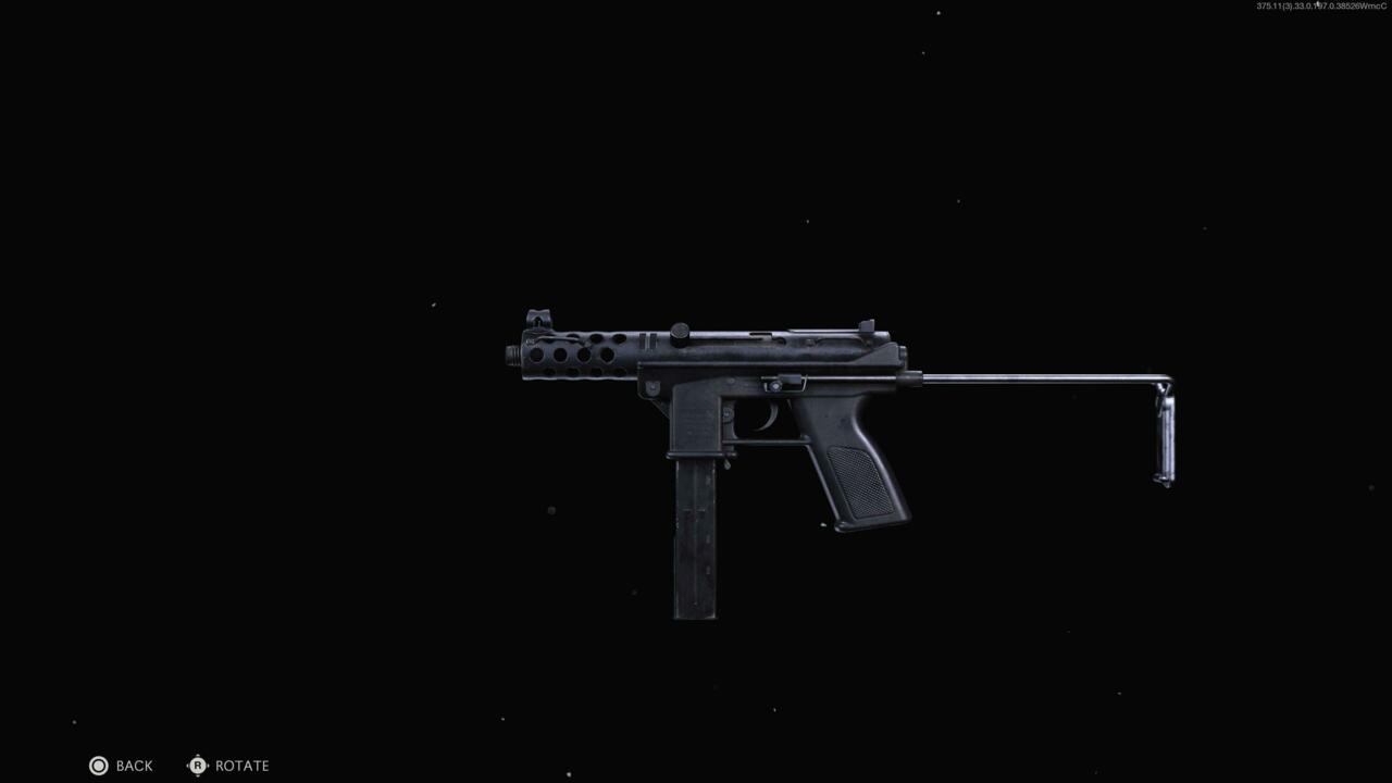 TEC-9 submachine gun