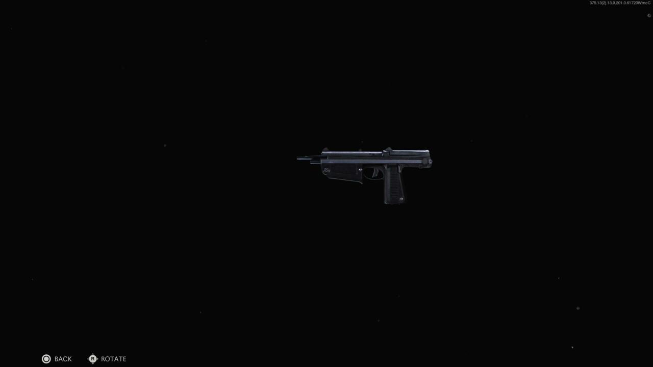 AMP63 pistol