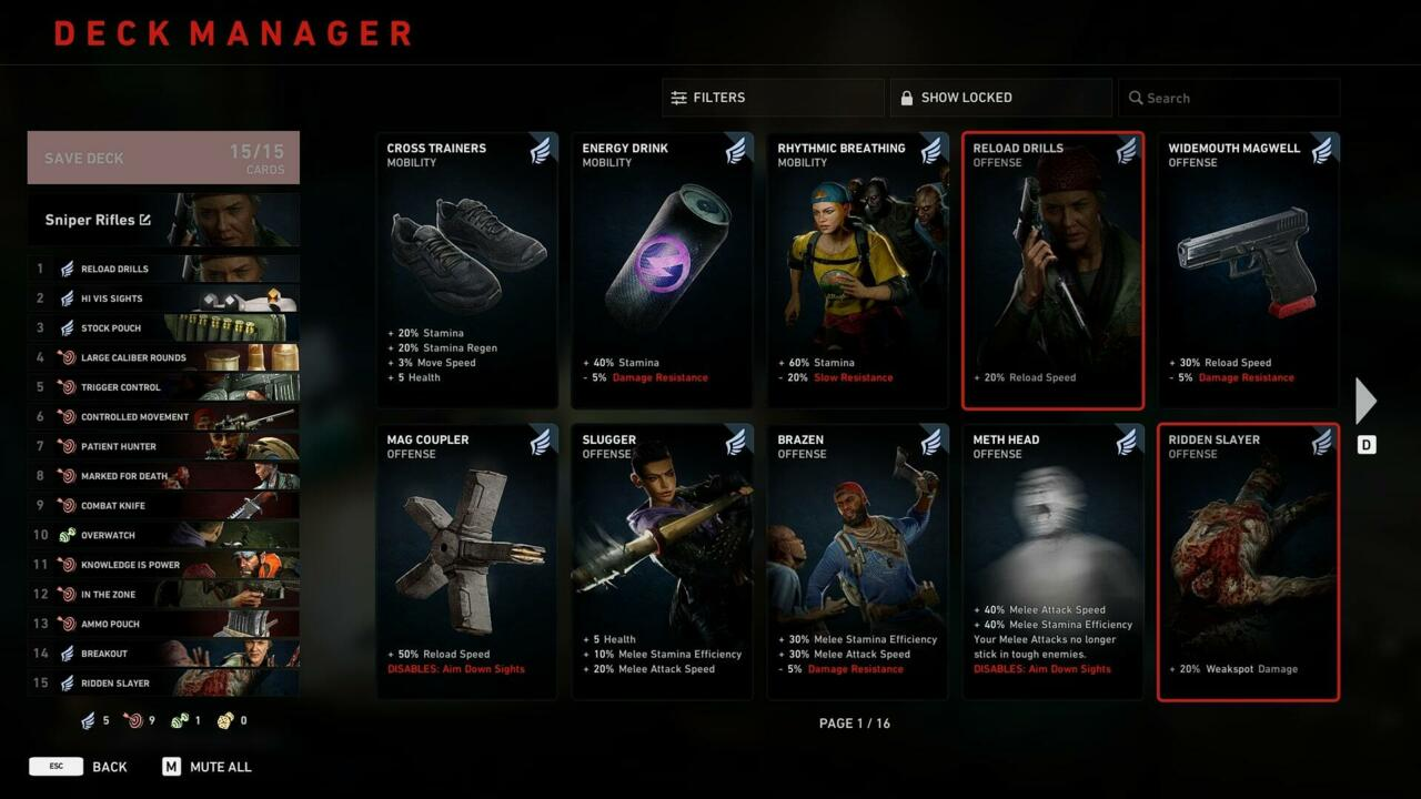 Sniper Rifle deck