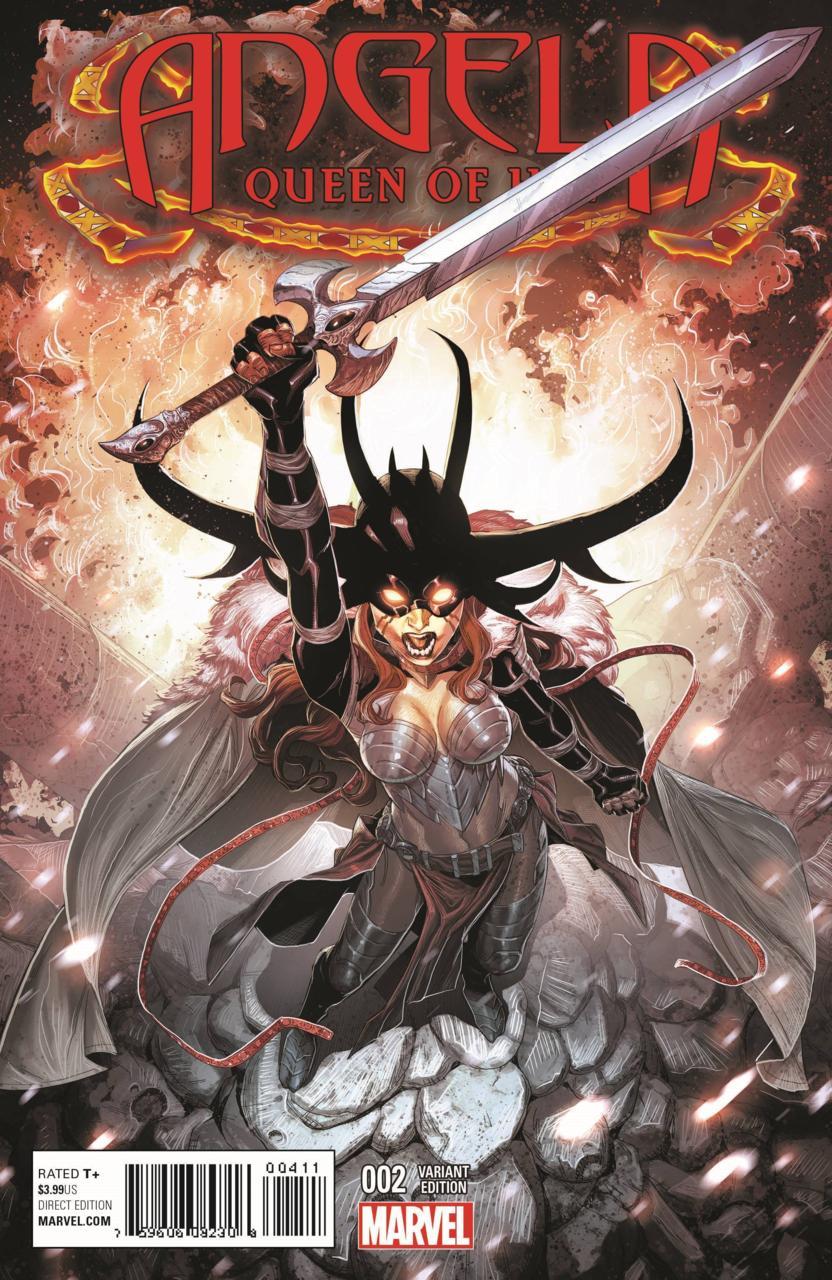 Angela, Queen of Hel